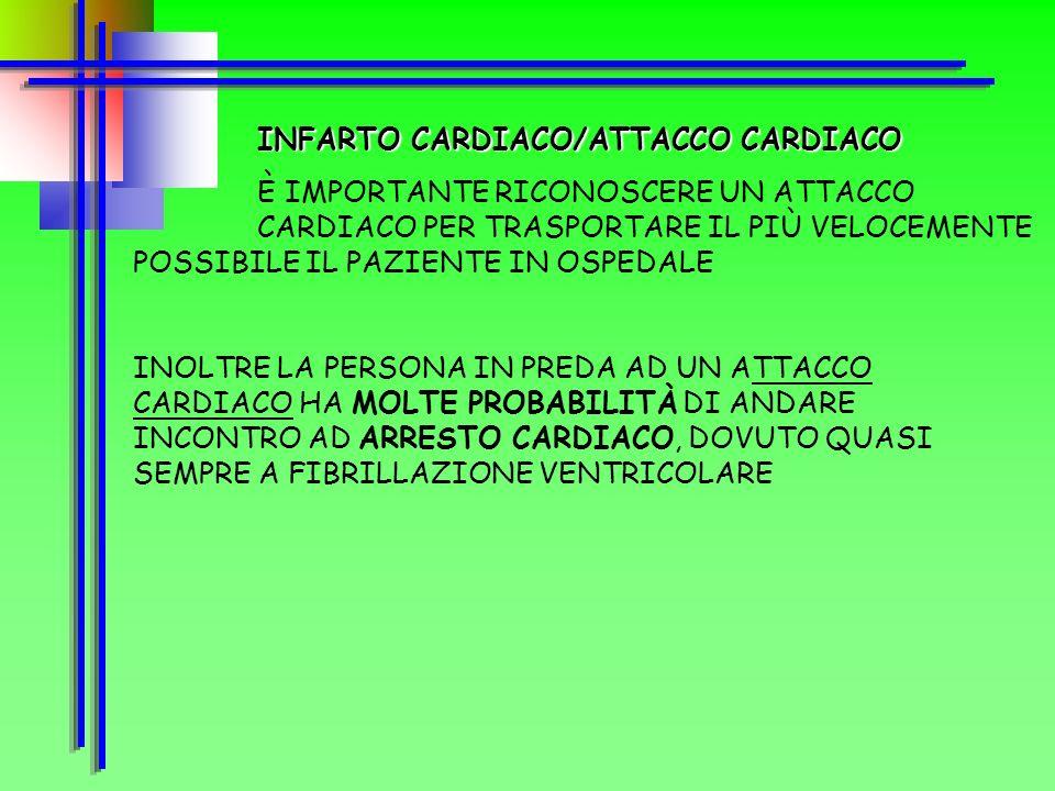 INFARTO CARDIACO/ATTACCO CARDIACO