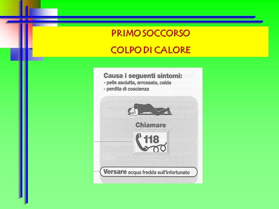 PRIMO SOCCORSO COLPO DI CALORE