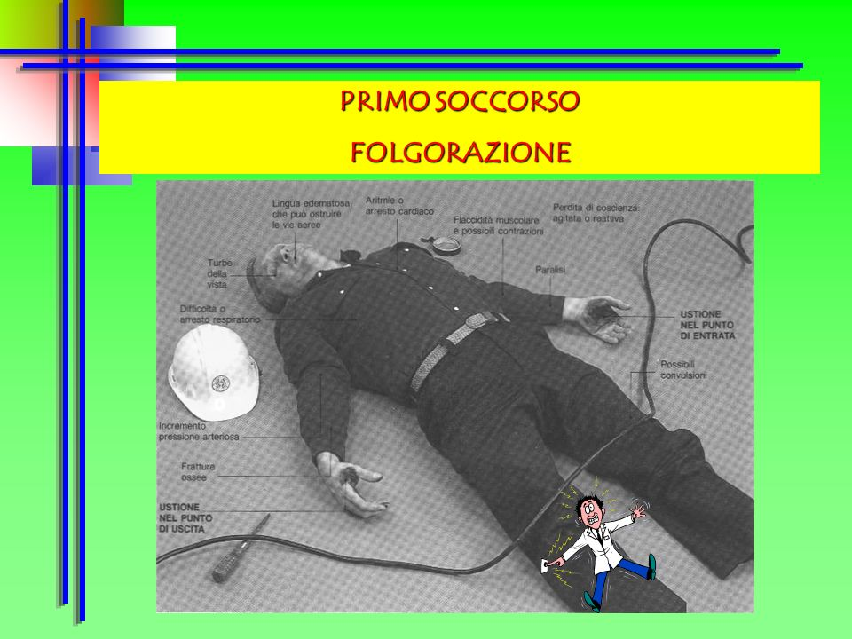 PRIMO SOCCORSO FOLGORAZIONE