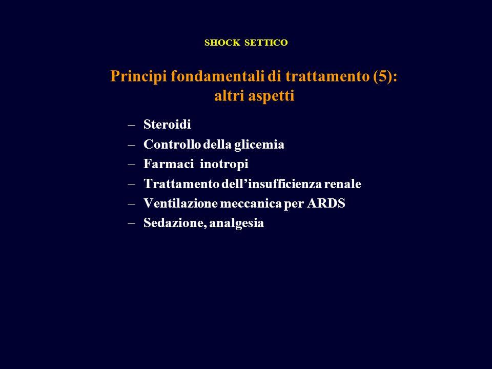 Principi fondamentali di trattamento (5): altri aspetti
