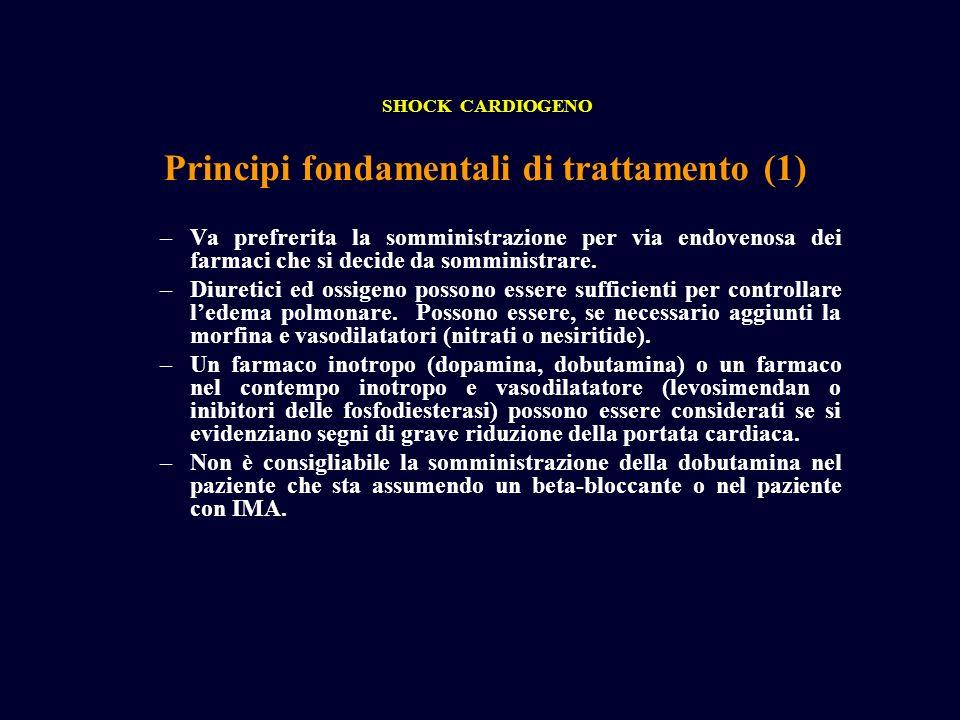 Principi fondamentali di trattamento (1)