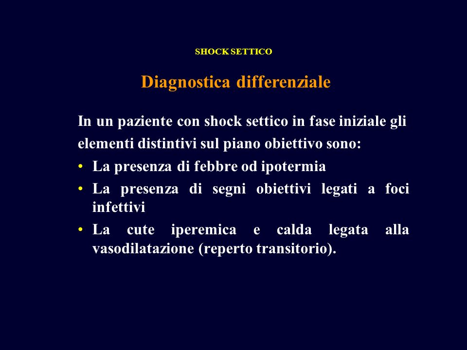 Diagnostica differenziale
