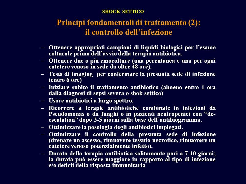 Principi fondamentali di trattamento (2): il controllo dell'infezione
