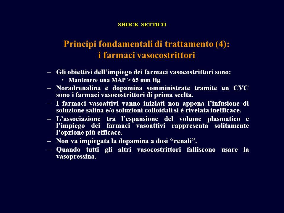 Principi fondamentali di trattamento (4): i farmaci vasocostrittori