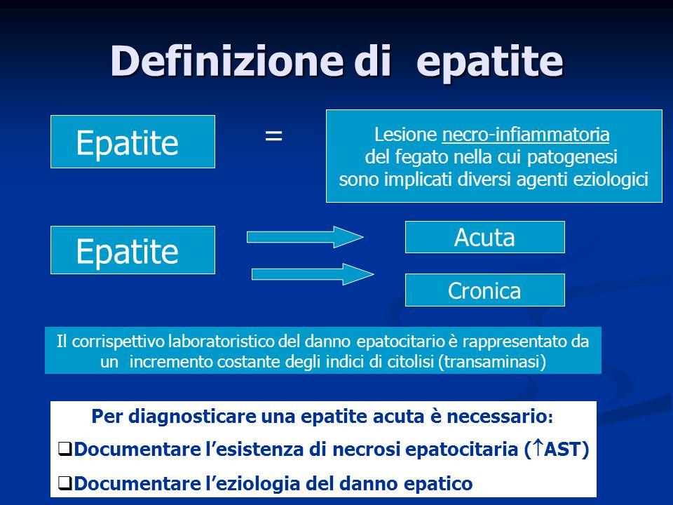 Definizione di epatite