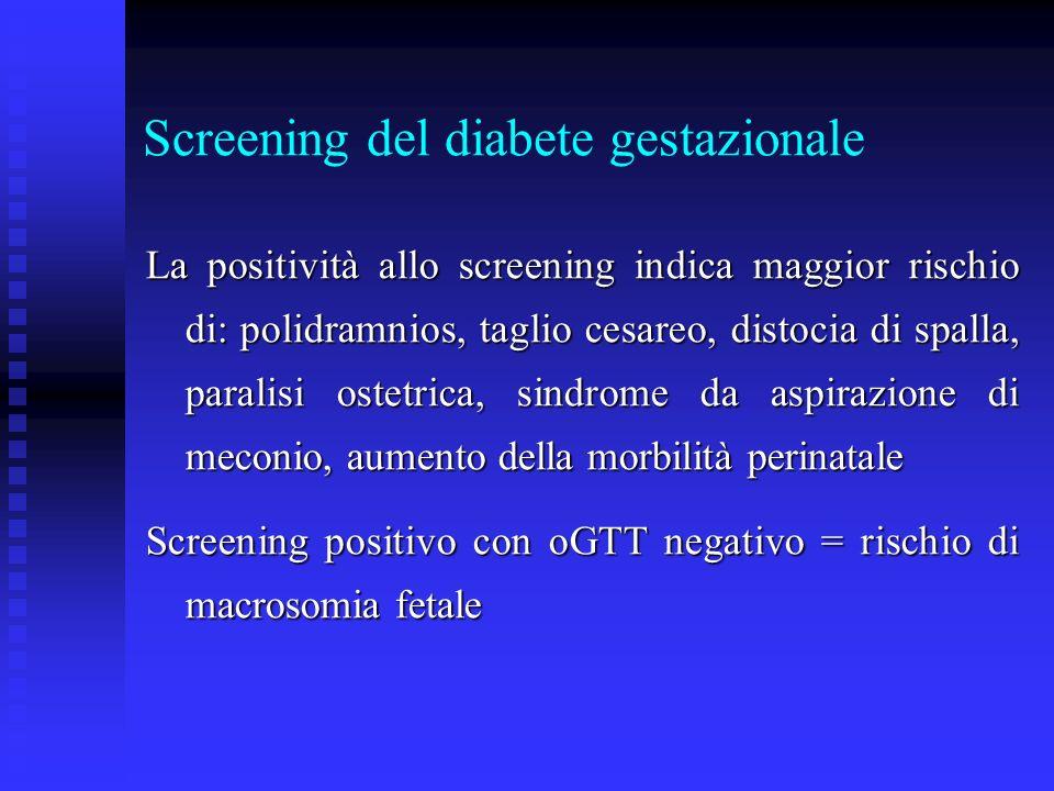 Screening del diabete gestazionale