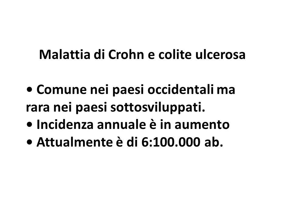 Malattia di Crohn e colite ulcerosa
