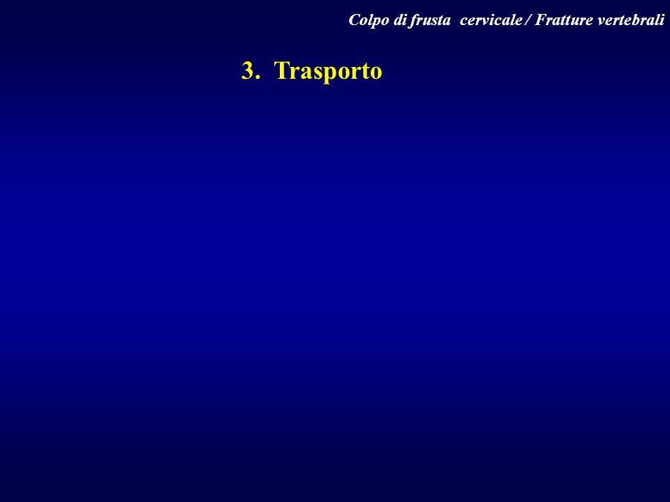 Colpo di frusta cervicale / Fratture vertebrali