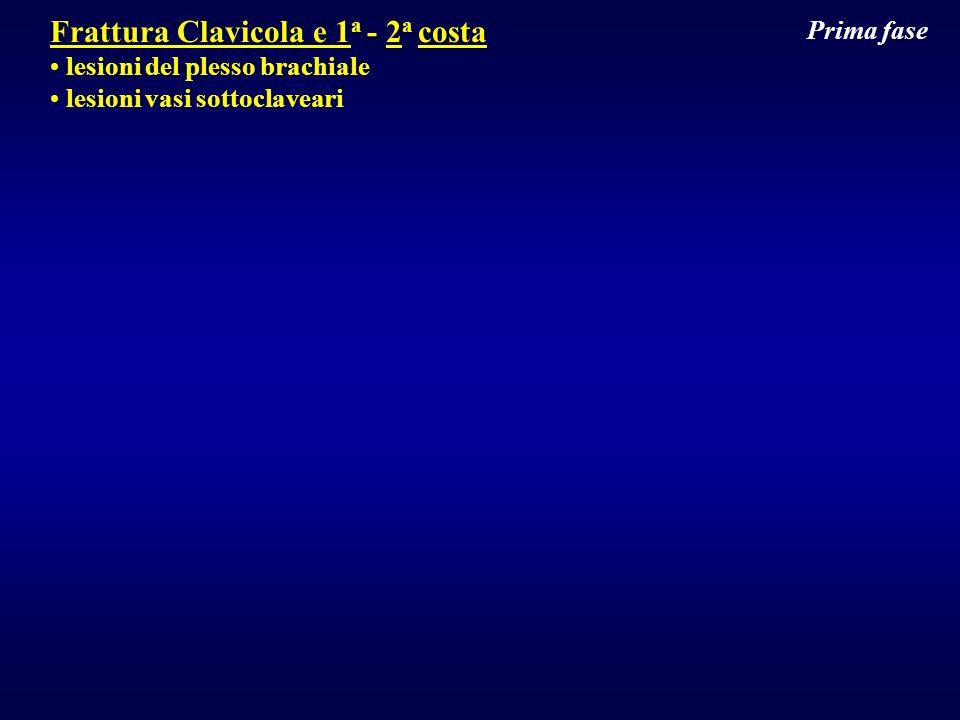 Frattura Clavicola e 1a - 2a costa