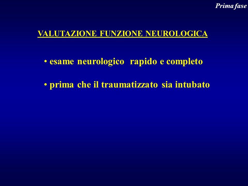 esame neurologico rapido e completo