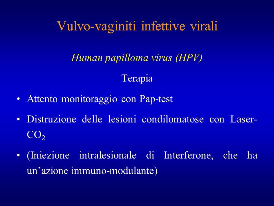 Vulvo-vaginiti infettive virali