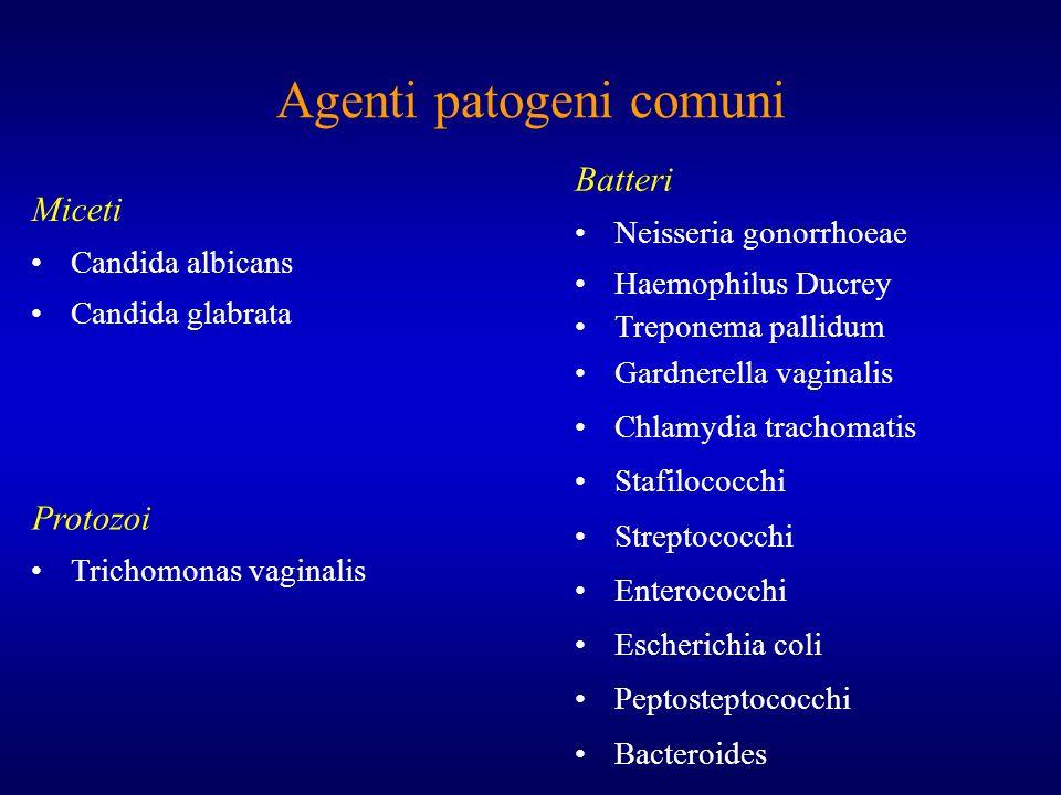 Agenti patogeni comuni
