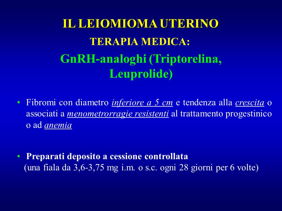 GnRH-analoghi (Triptorelina, Leuprolide)