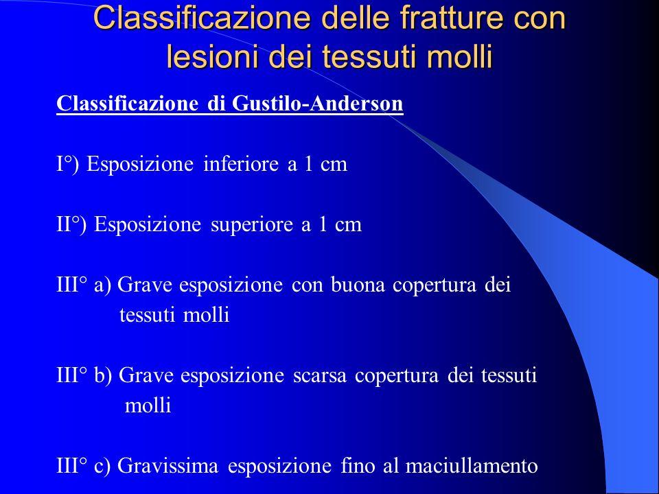 Classificazione delle fratture con lesioni dei tessuti molli