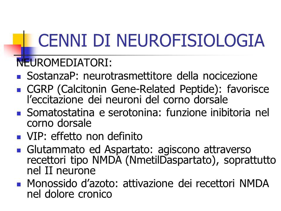 CENNI DI NEUROFISIOLOGIA