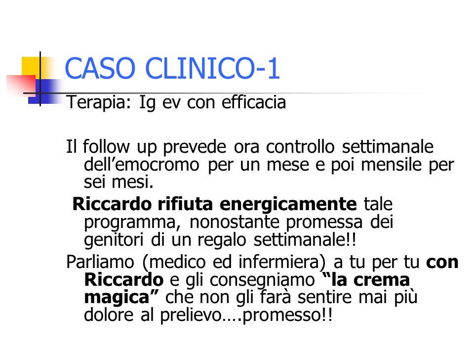 CASO CLINICO-1 Terapia: Ig ev con efficacia