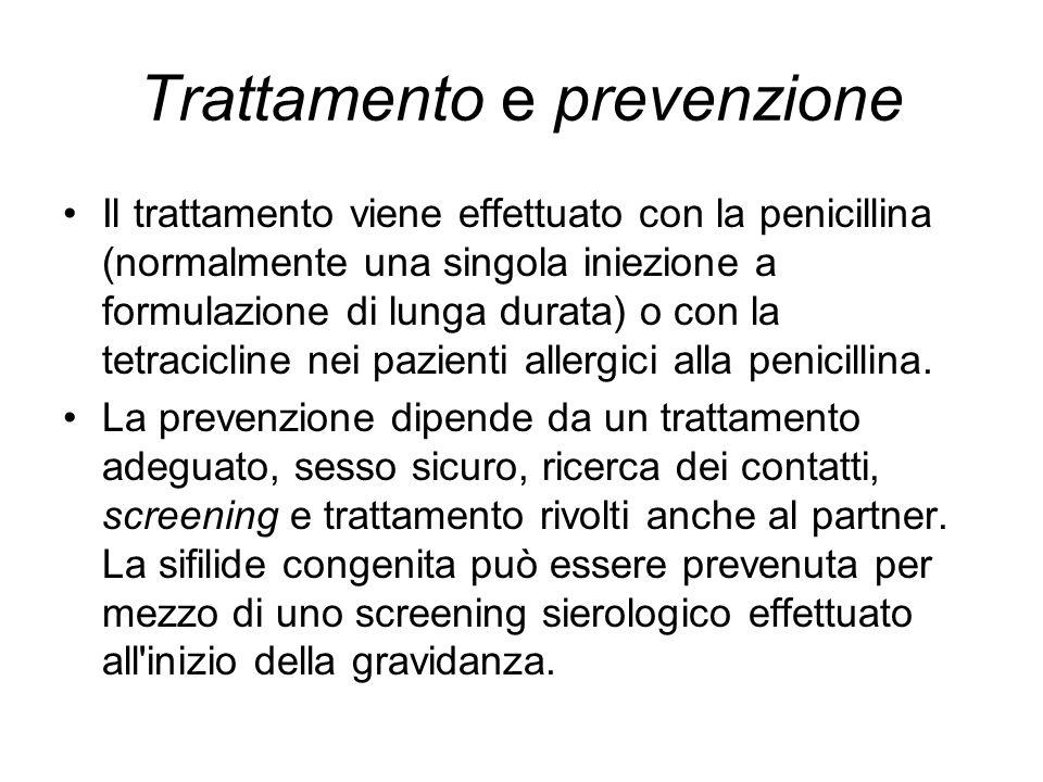 Trattamento e prevenzione