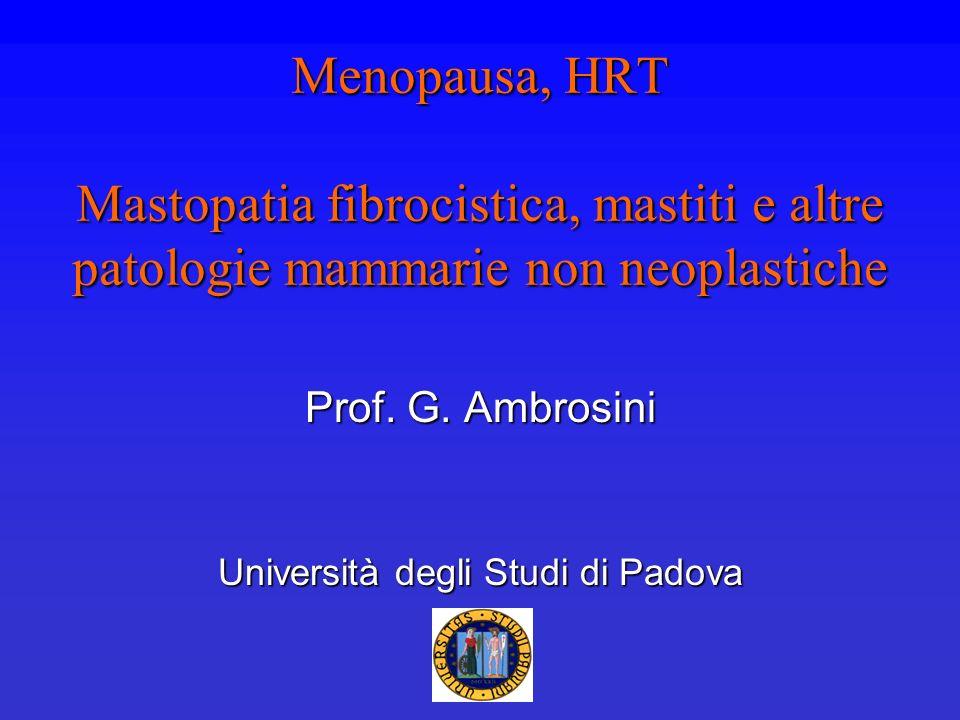 Prof. G. Ambrosini Università degli Studi di Padova