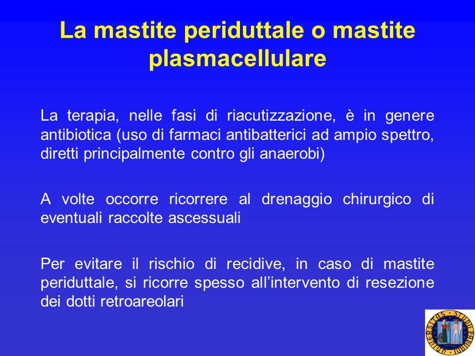 La mastite periduttale o mastite plasmacellulare