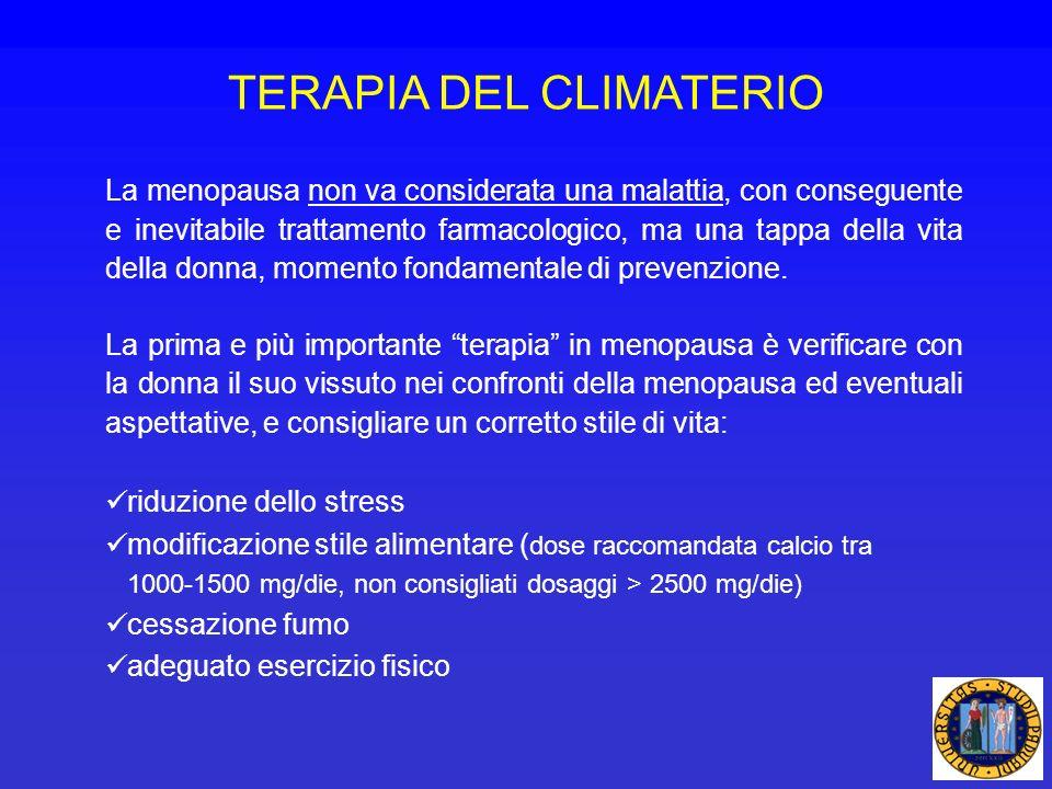 TERAPIA DEL CLIMATERIO