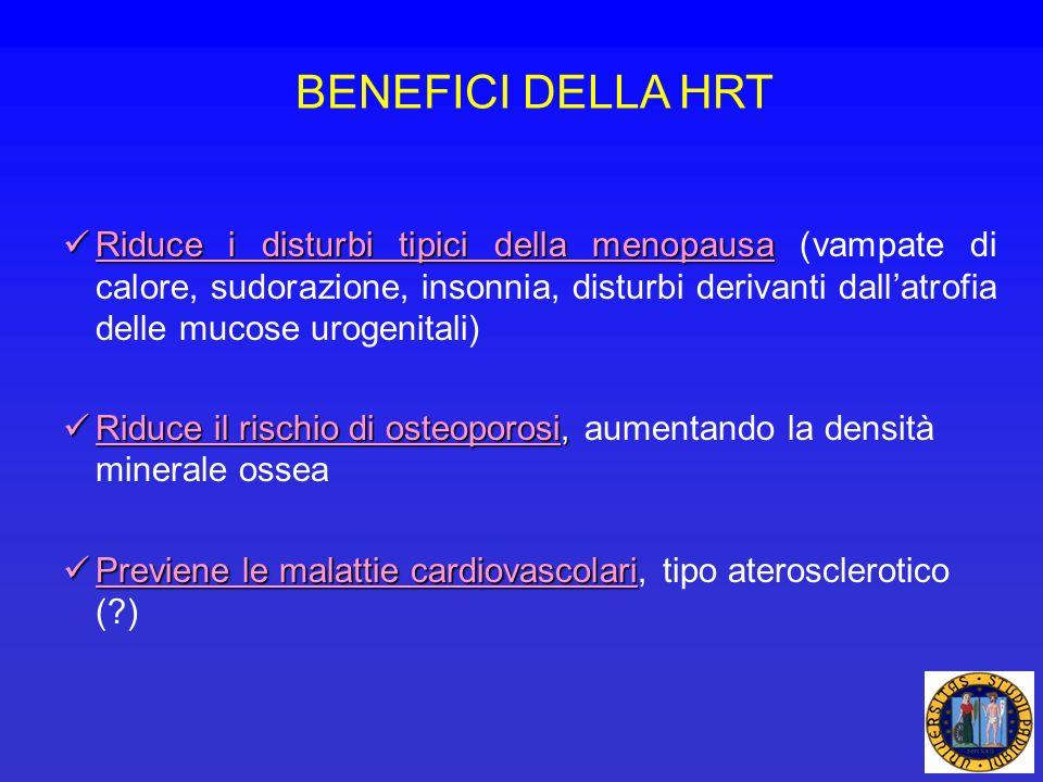BENEFICI DELLA HRT