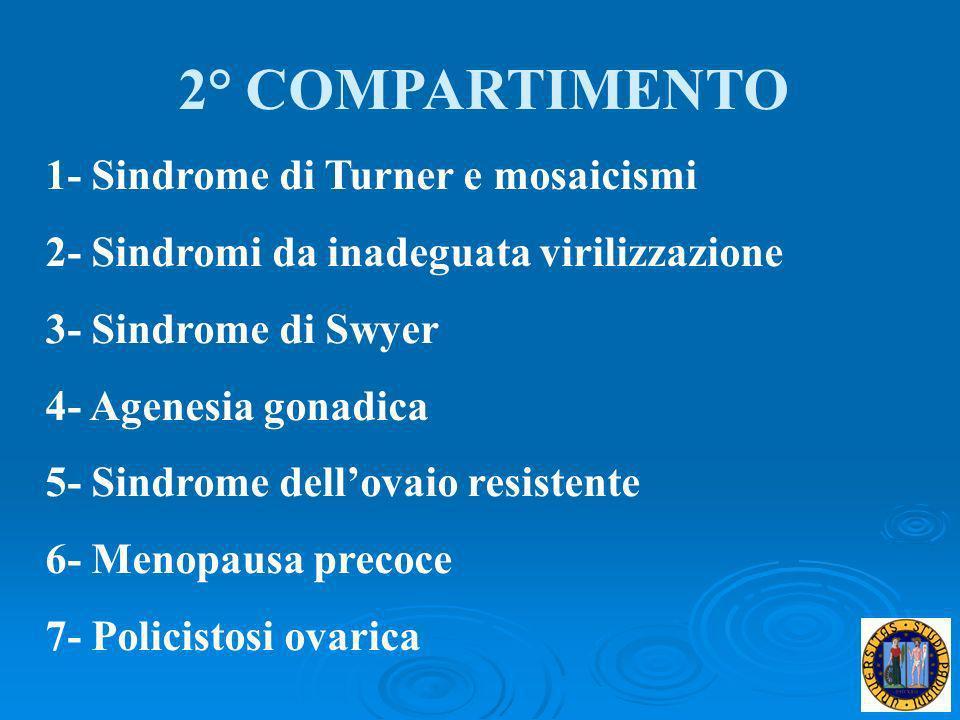 2° COMPARTIMENTO 1- Sindrome di Turner e mosaicismi