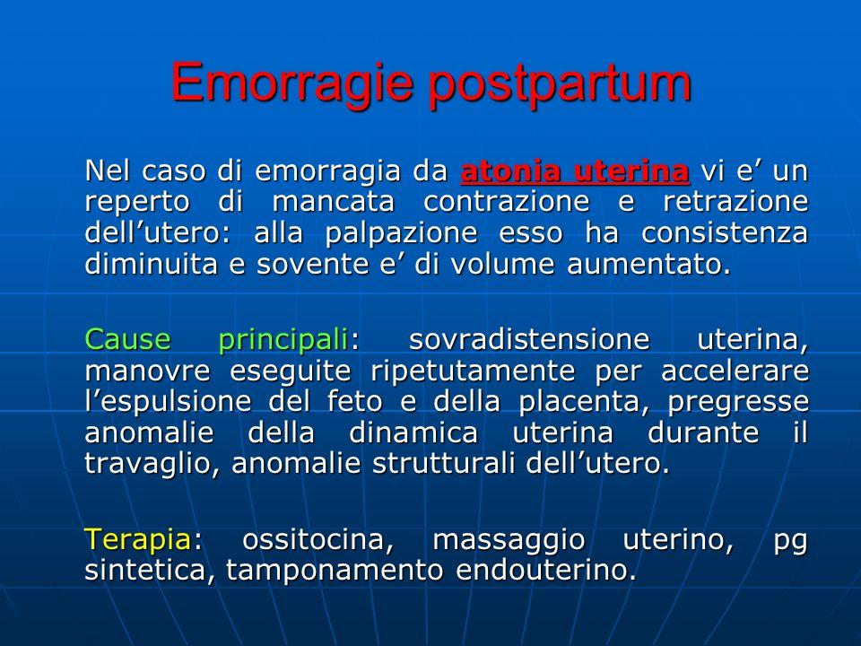 Emorragie postpartum