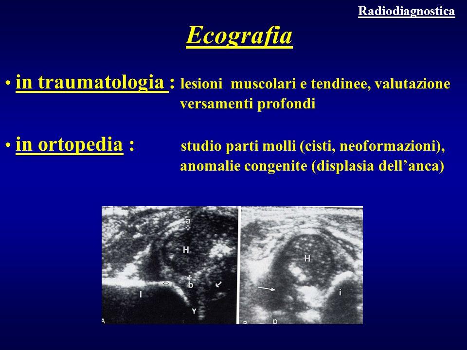 Ecografia in traumatologia : lesioni muscolari e tendinee, valutazione