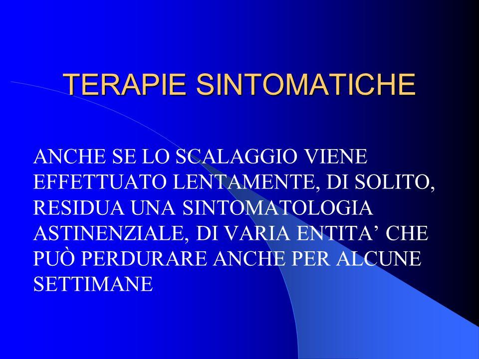 TERAPIE SINTOMATICHE