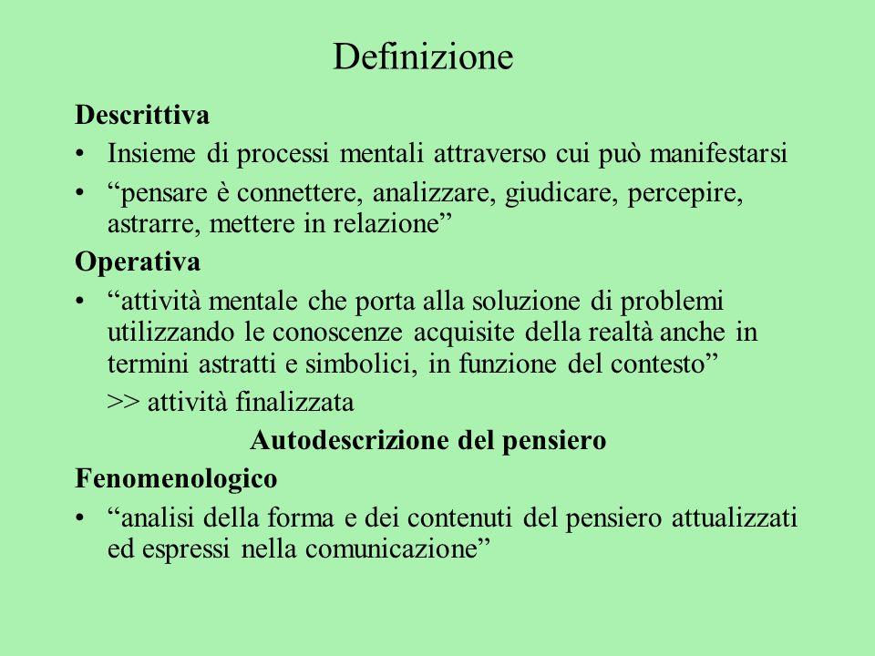 Definizione Descrittiva