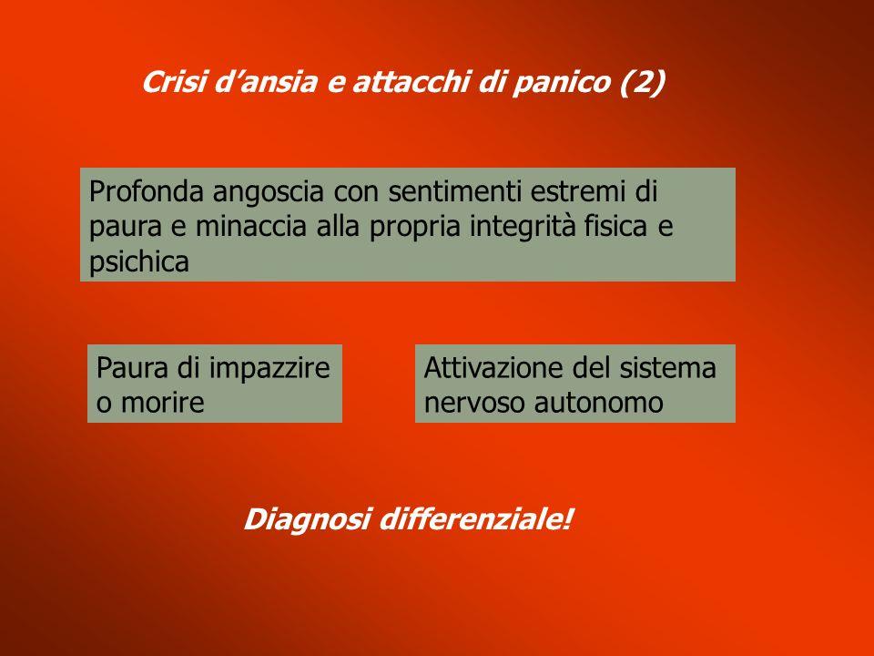 Crisi d'ansia e attacchi di panico (2)
