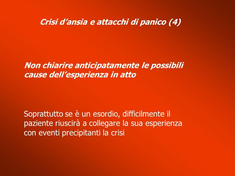 Crisi d'ansia e attacchi di panico (4)