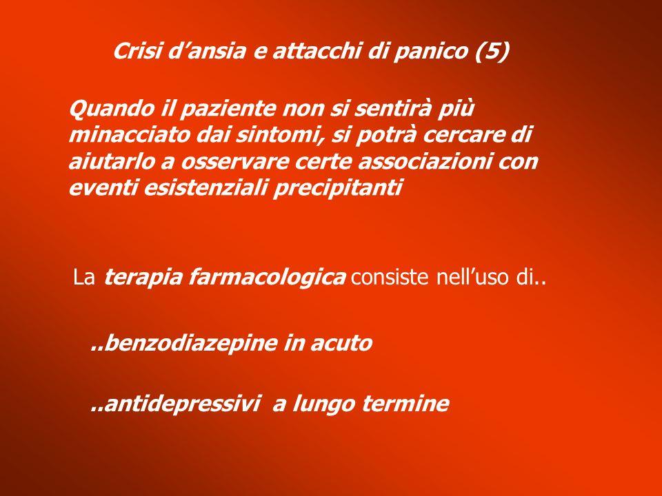 Crisi d'ansia e attacchi di panico (5)