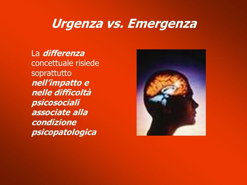 Urgenza vs. Emergenza