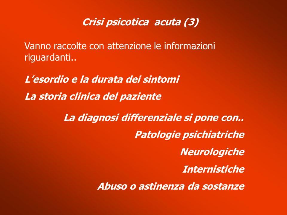 Crisi psicotica acuta (3)