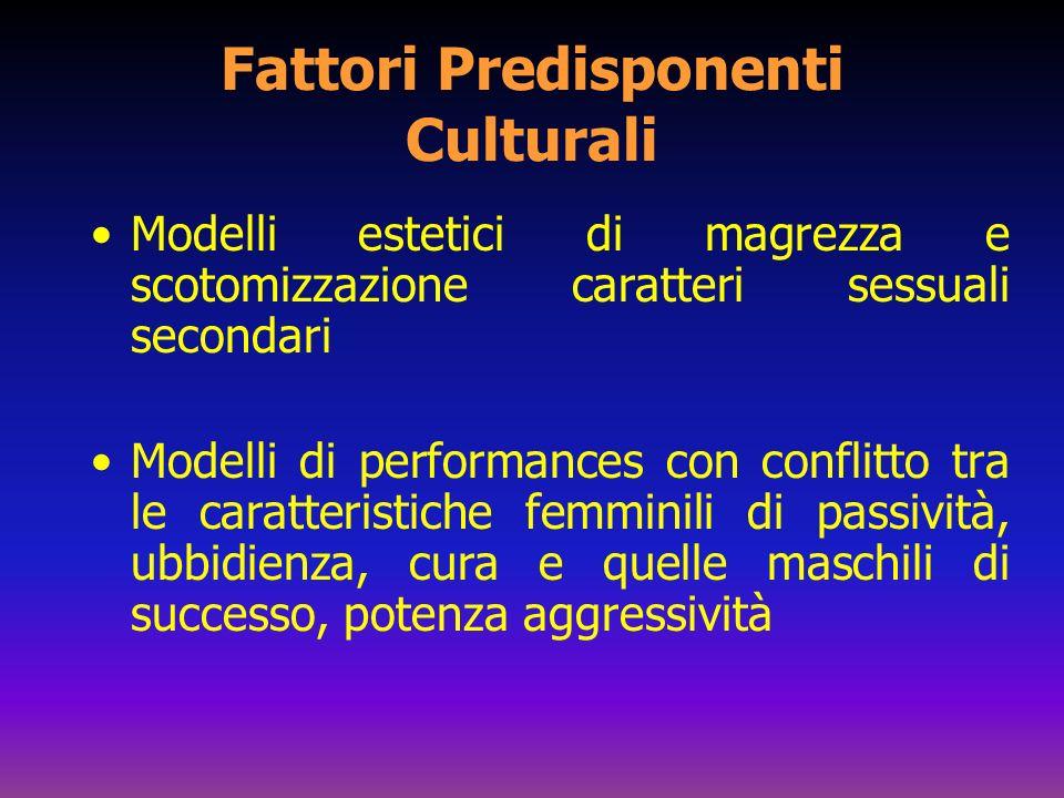 Fattori Predisponenti Culturali
