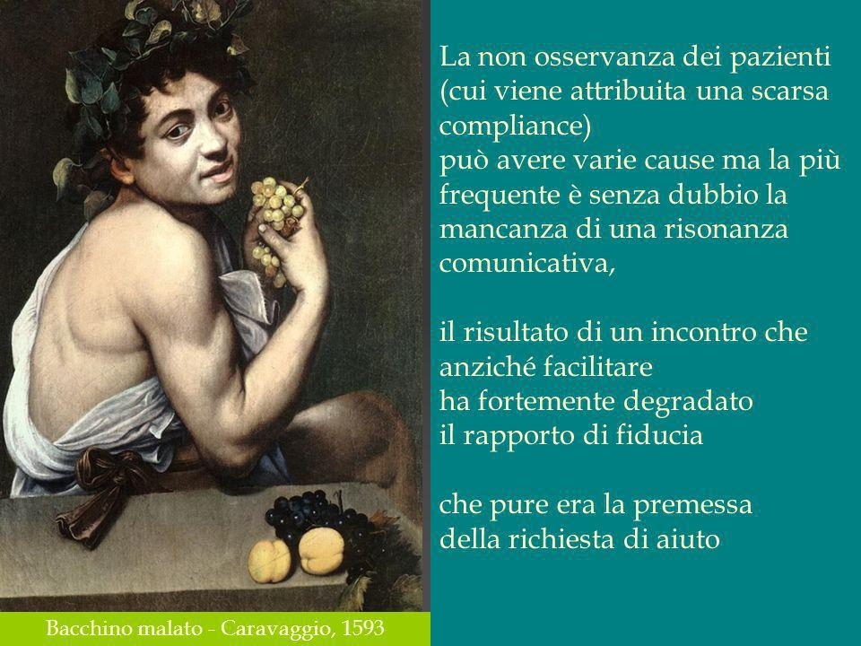 Bacchino malato - Caravaggio, 1593