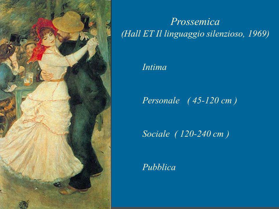 (Hall ET Il linguaggio silenzioso, 1969)
