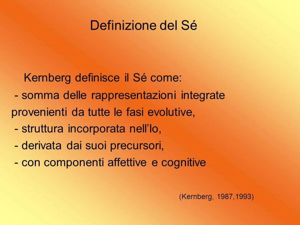 Kernberg definisce il Sé come: