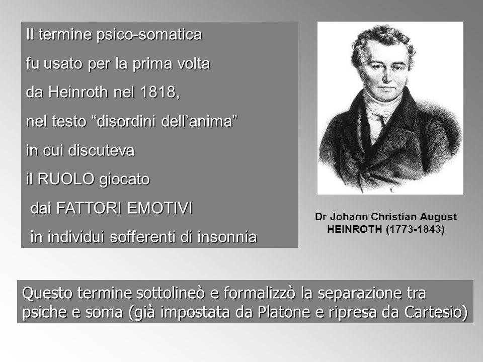 Dr Johann Christian August HEINROTH (1773-1843)