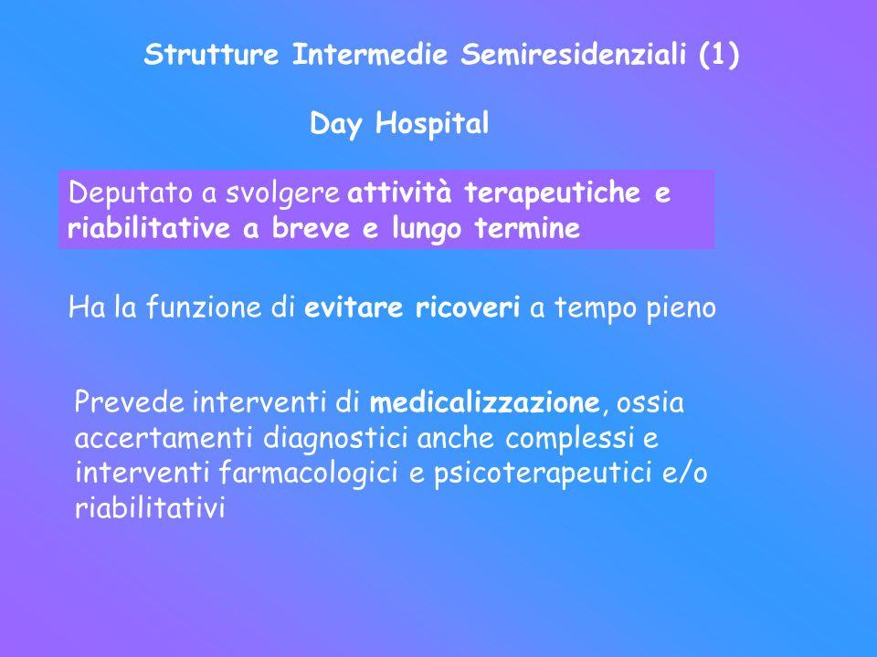 Strutture Intermedie Semiresidenziali (1)