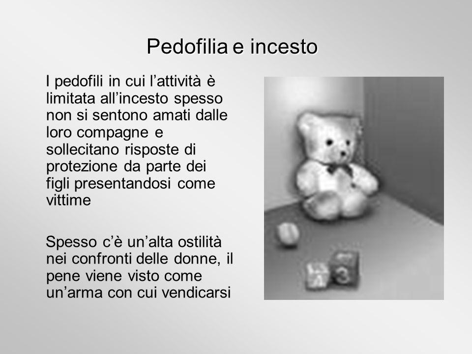 Pedofilia e incesto