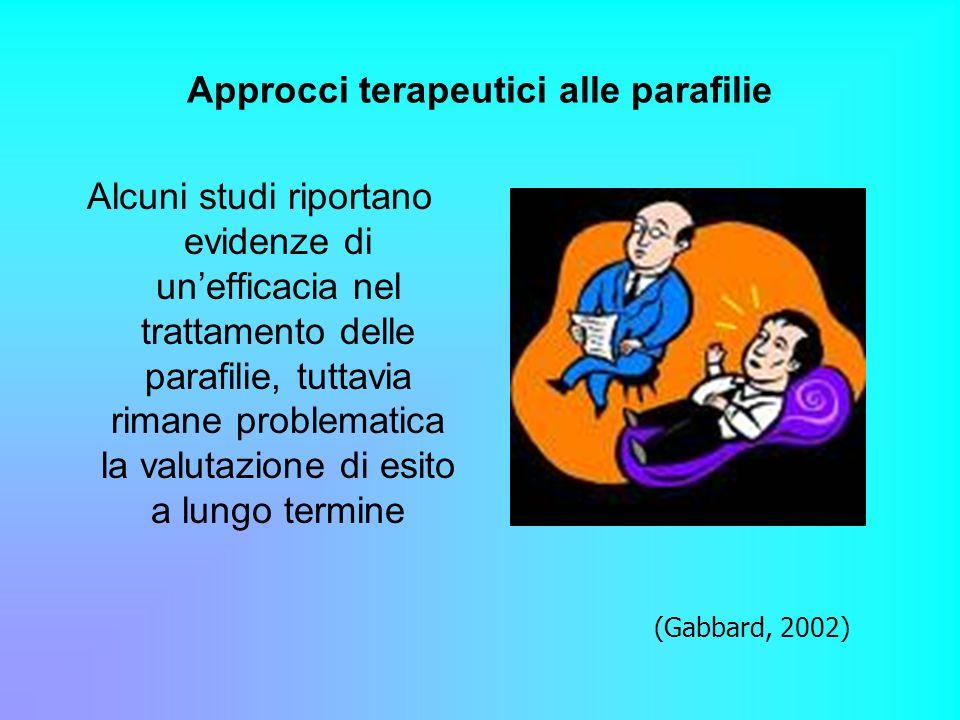 Approcci terapeutici alle parafilie