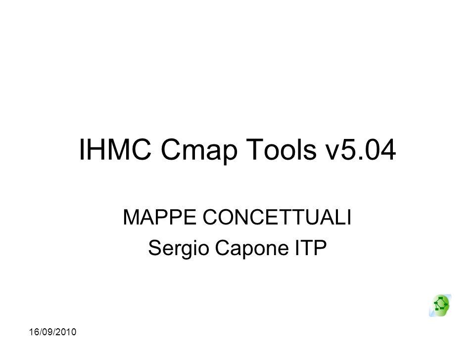 MAPPE CONCETTUALI Sergio Capone ITP