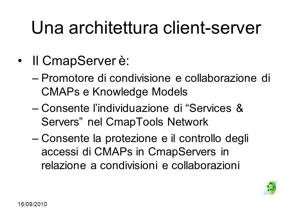 Una architettura client-server