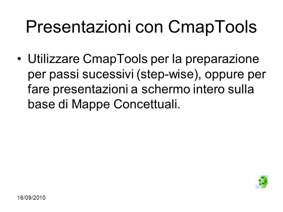 Presentazioni con CmapTools