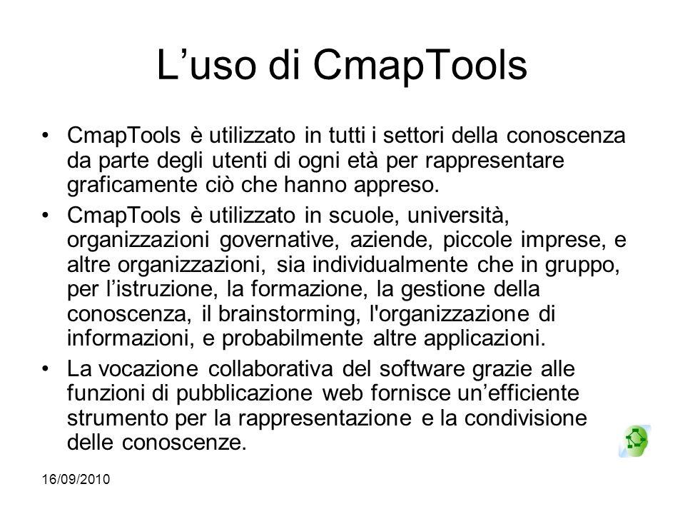 L'uso di CmapTools