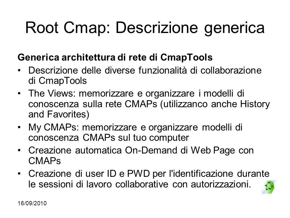 Root Cmap: Descrizione generica