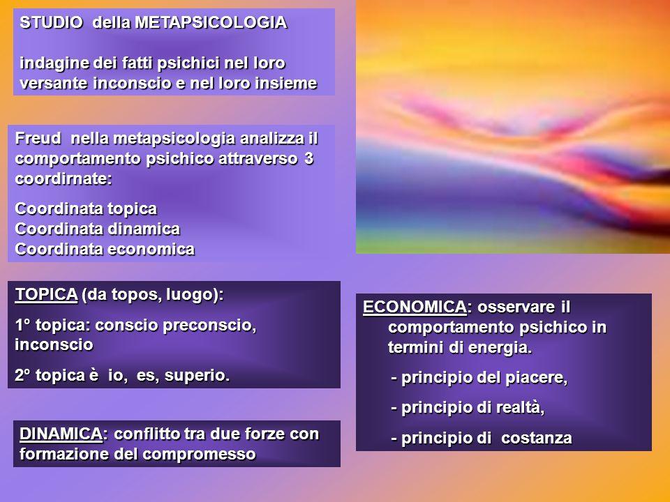 STUDIO della METAPSICOLOGIA