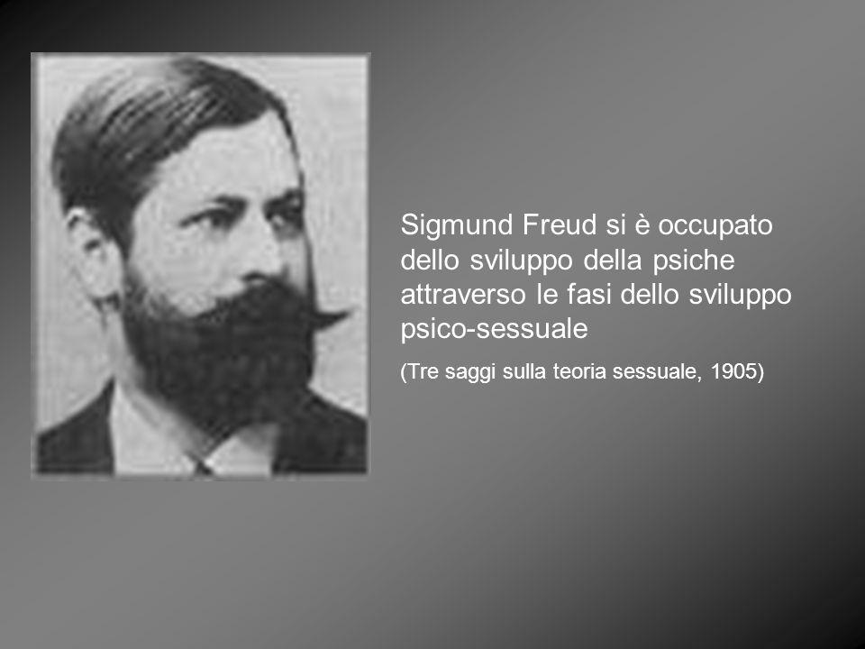 Sigmund Freud si è occupato dello sviluppo della psiche attraverso le fasi dello sviluppo psico-sessuale